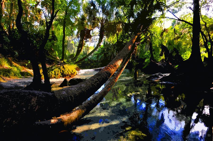 Paradise Painting - Paradise Found by David Lee Thompson