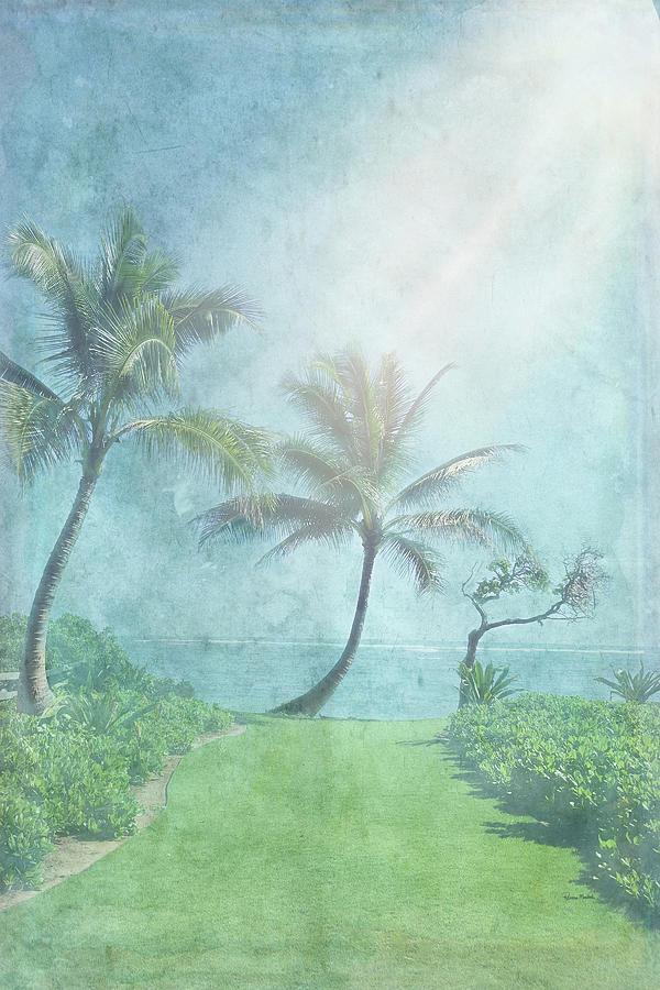 Palm Trees Digital Art - Paradise Found II by Ramona Murdock