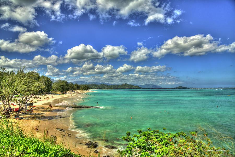 Paradise Found Kailua Beach Park Oahu Hawaii Art