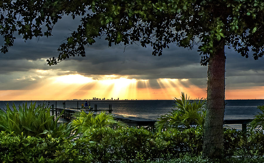 Sunset Photograph - Paradise Found by Norman Johnson