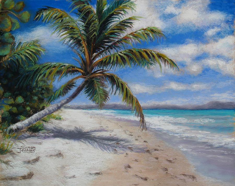 Landscape Pastel - Paradise Found by Susan Jenkins