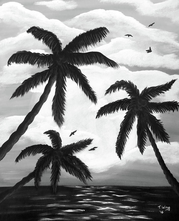 Paradise in Black and White by Teresa Wing