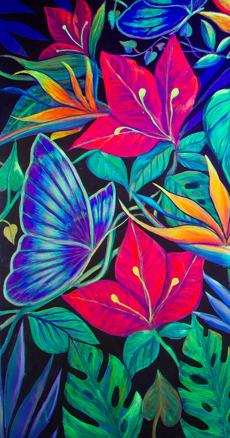 Paradise Painting - Paradise In Tinajas #1 by Sue Beck-Ryan