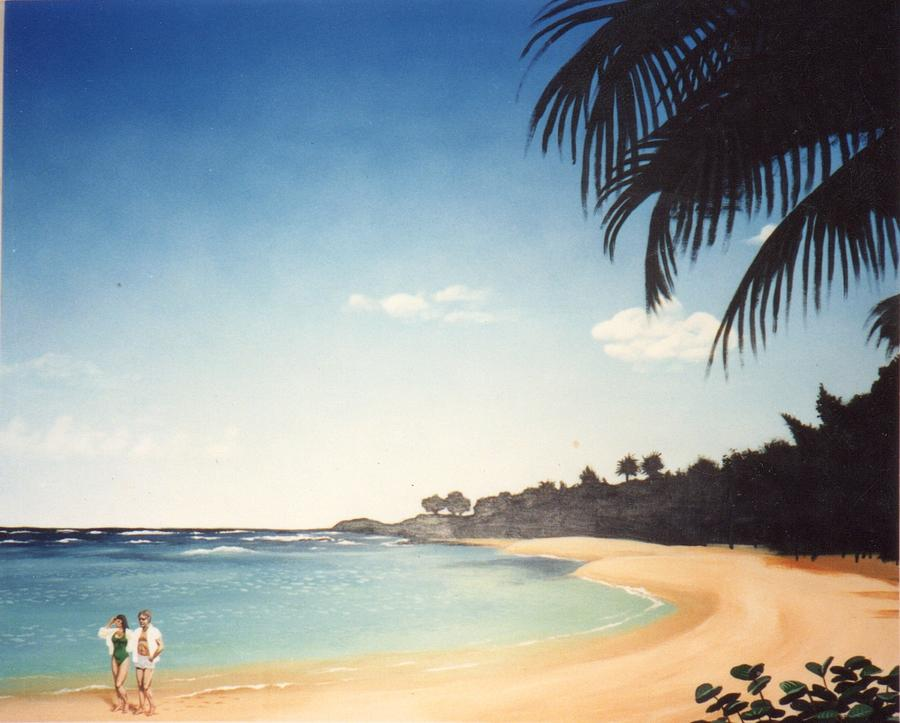 Landscape Painting - Paradise by Jim Kleiner II