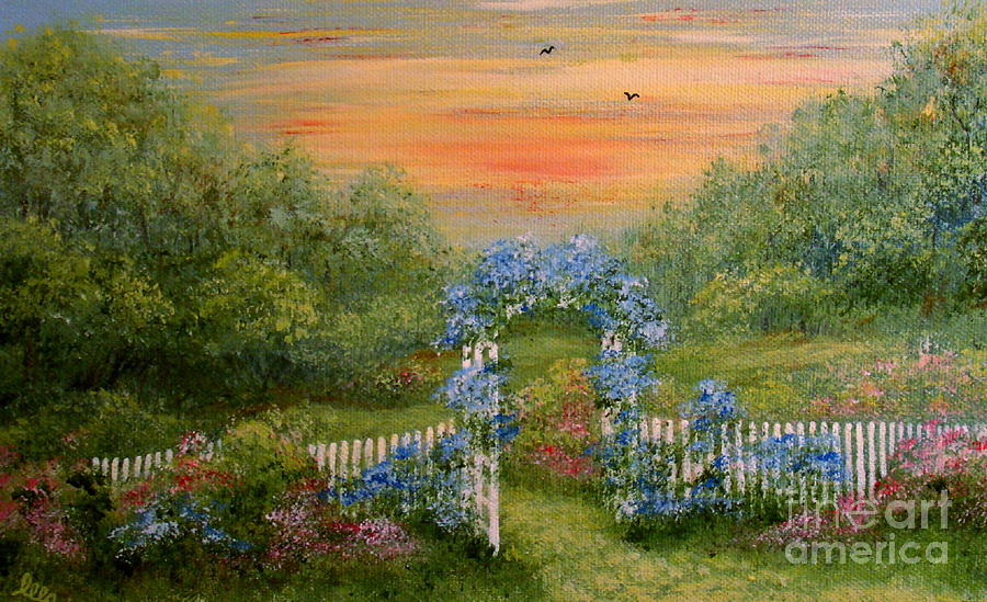 Paradise Painting - Paradise by Leea Baltes