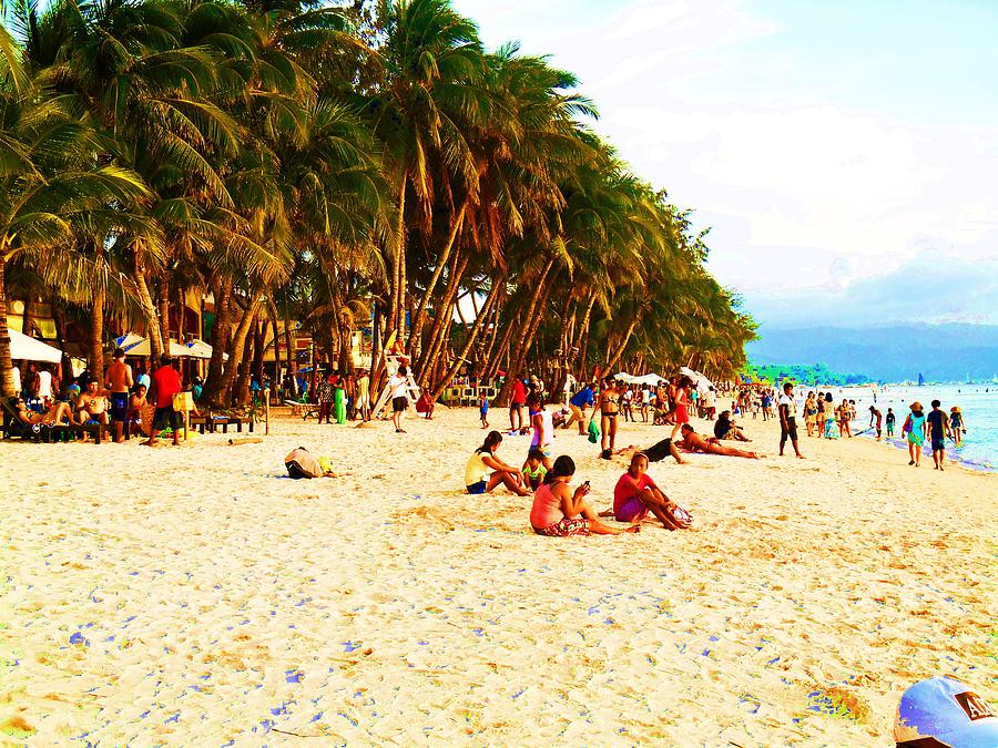 Beach Photograph - Paraiso Del Barrio by Sarah Scherf