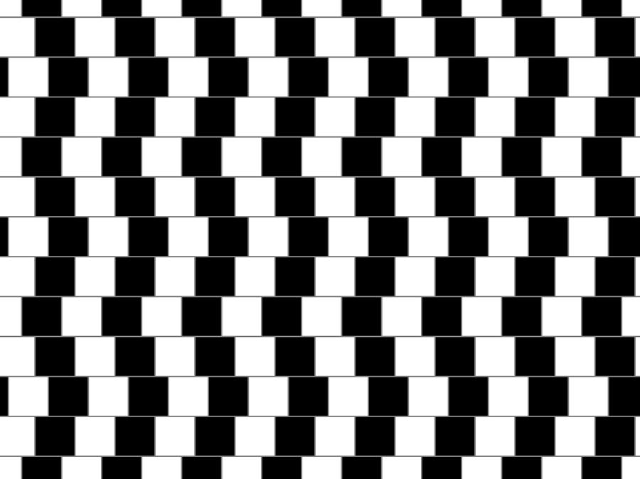 Optical Illusion Digital Art - Parallel Lines by Michael Tompsett