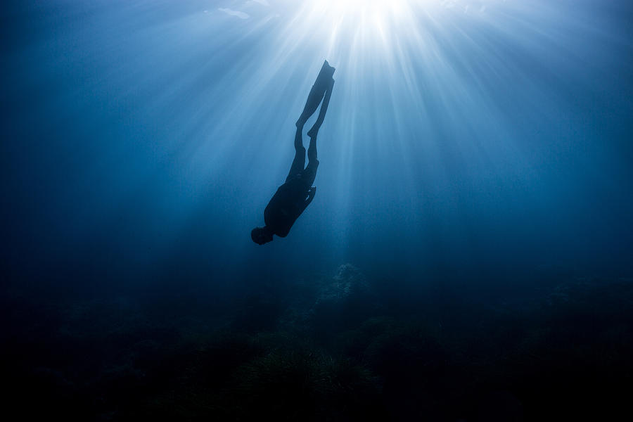 Freediving Photograph - Parallel World by One ocean One breath