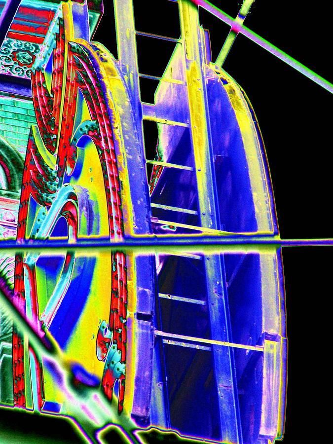 Seattle Digital Art - Paramount Theater Detail by Tim Allen