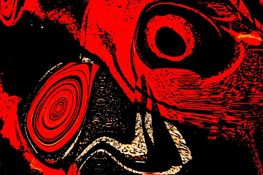 Delusion Digital Art - Paranoid by Max Steinwald