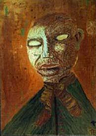 Religion Painting - Paranoid Priest by Tom Rundquist