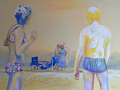 Sunn Painting - Parasol by Jan Wojciech  Malik