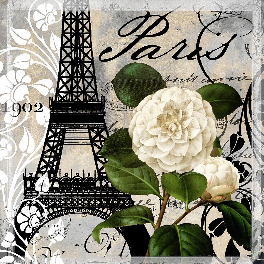 Paris Painting - Paris Blanc I by Mindy Sommers