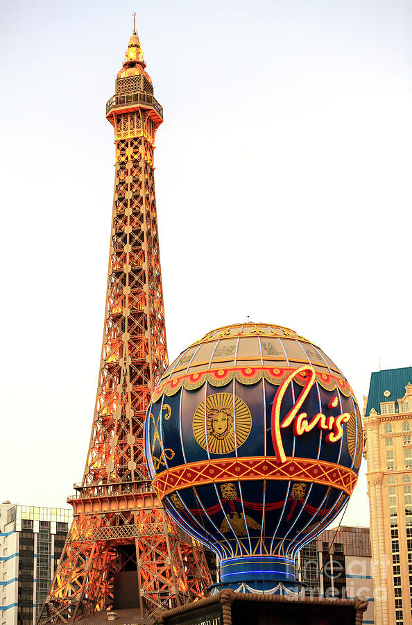 Paris Las Vegas Photograph - Paris Casino Las Vegas by John Rizzuto