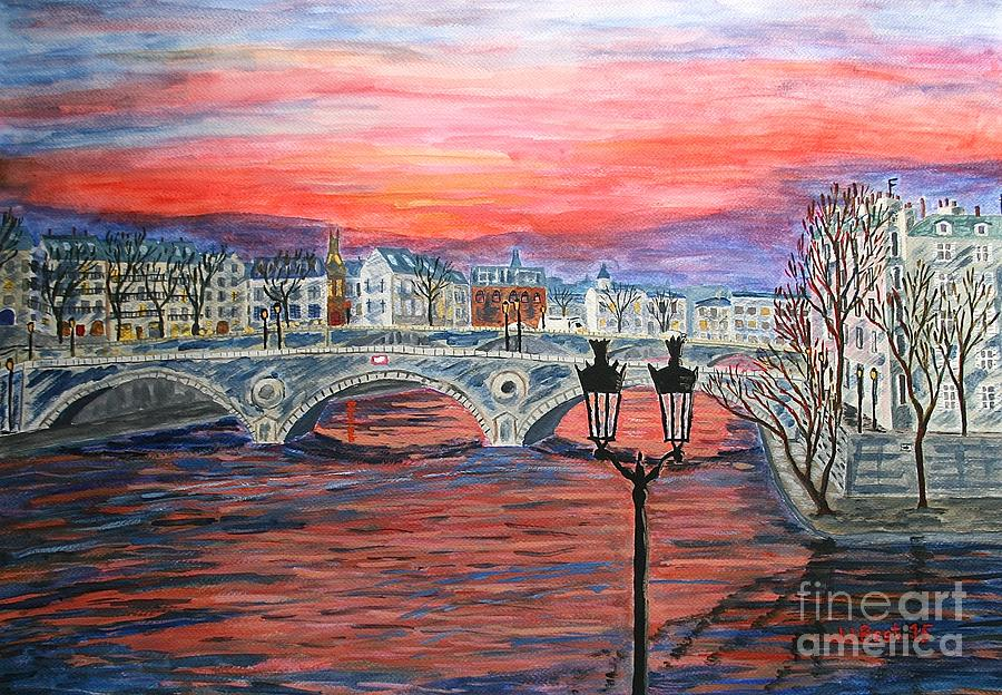 Paris dawn by Janice Best
