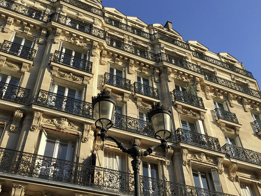Paris Facades by Frank DiMarco