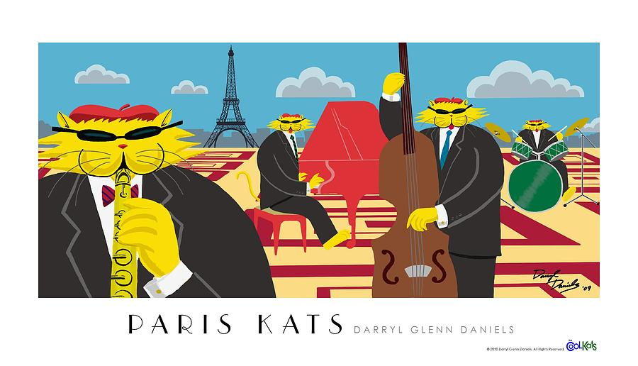 Paris Kats by DG Daniels