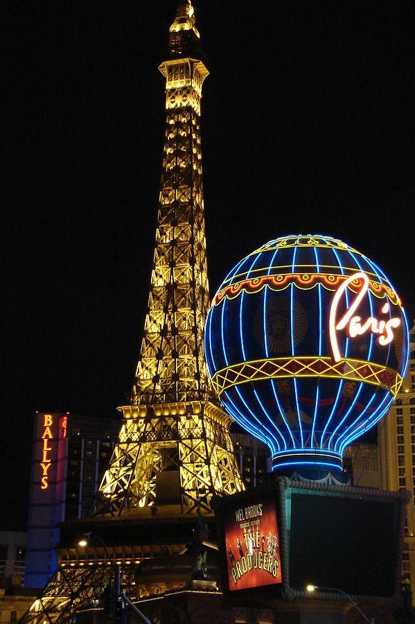 Paris Photograph - Paris Las Vegas by Kimberly Hill