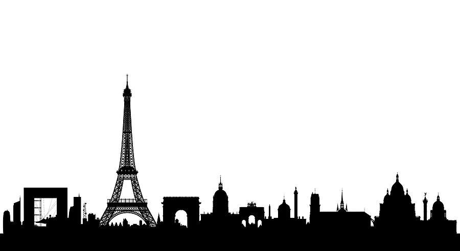 Paris Digital Art By Leon Bonaventura