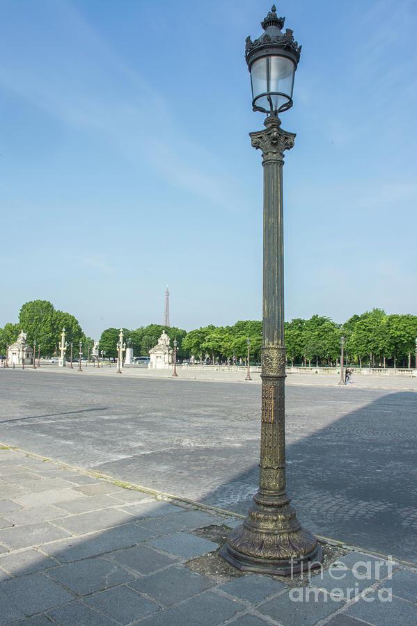 Paris Lightpost 1 by Tim Mulina