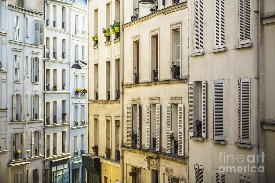 Paris Lines Photograph