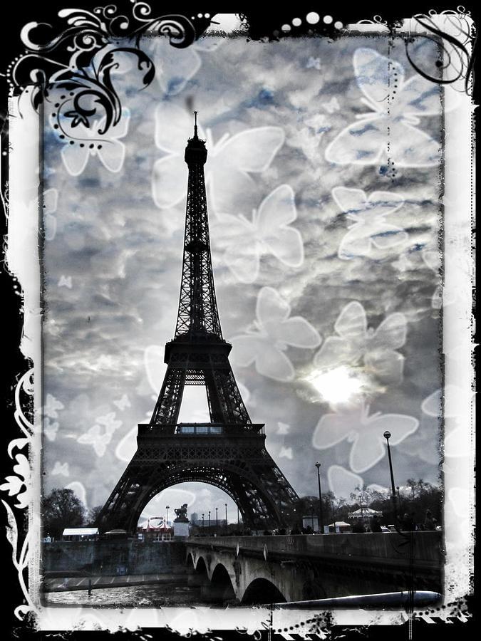 Paris Photograph - Paris by Marianna Mills