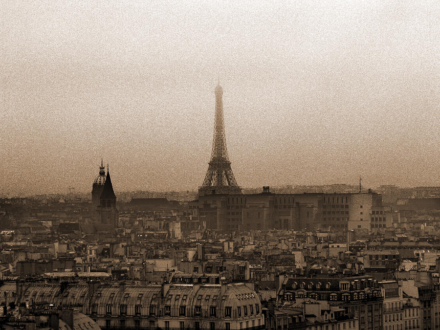 Paris Photograph - Paris Of Yesteryear II by Mark Currier