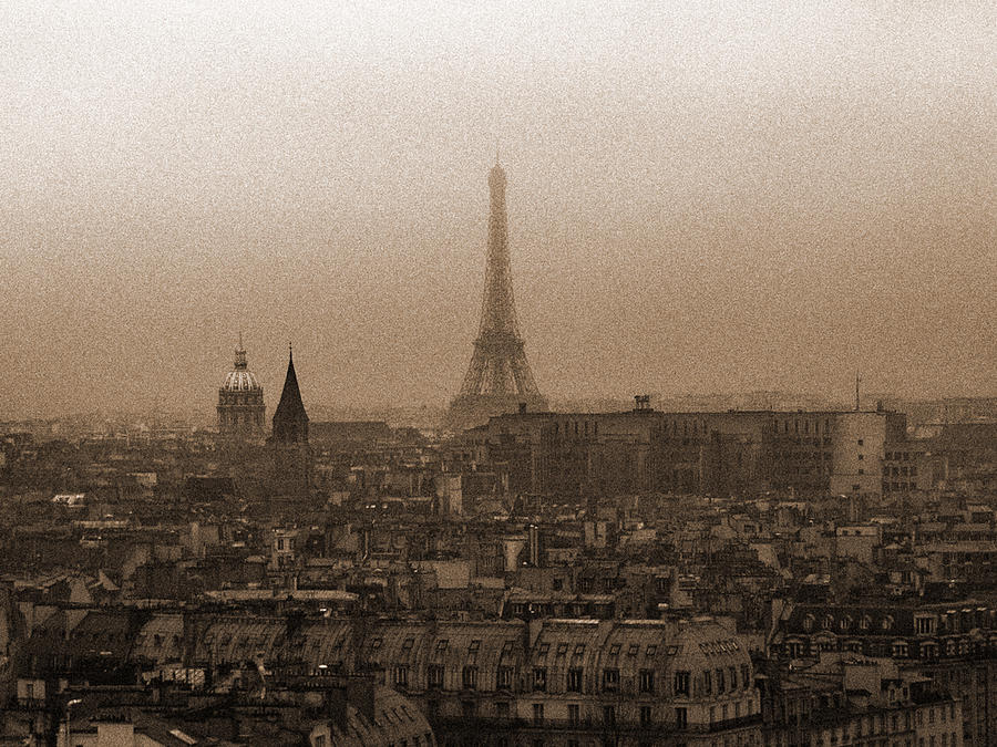 Paris Photograph - Paris Of Yesteryear IIi by Mark Currier