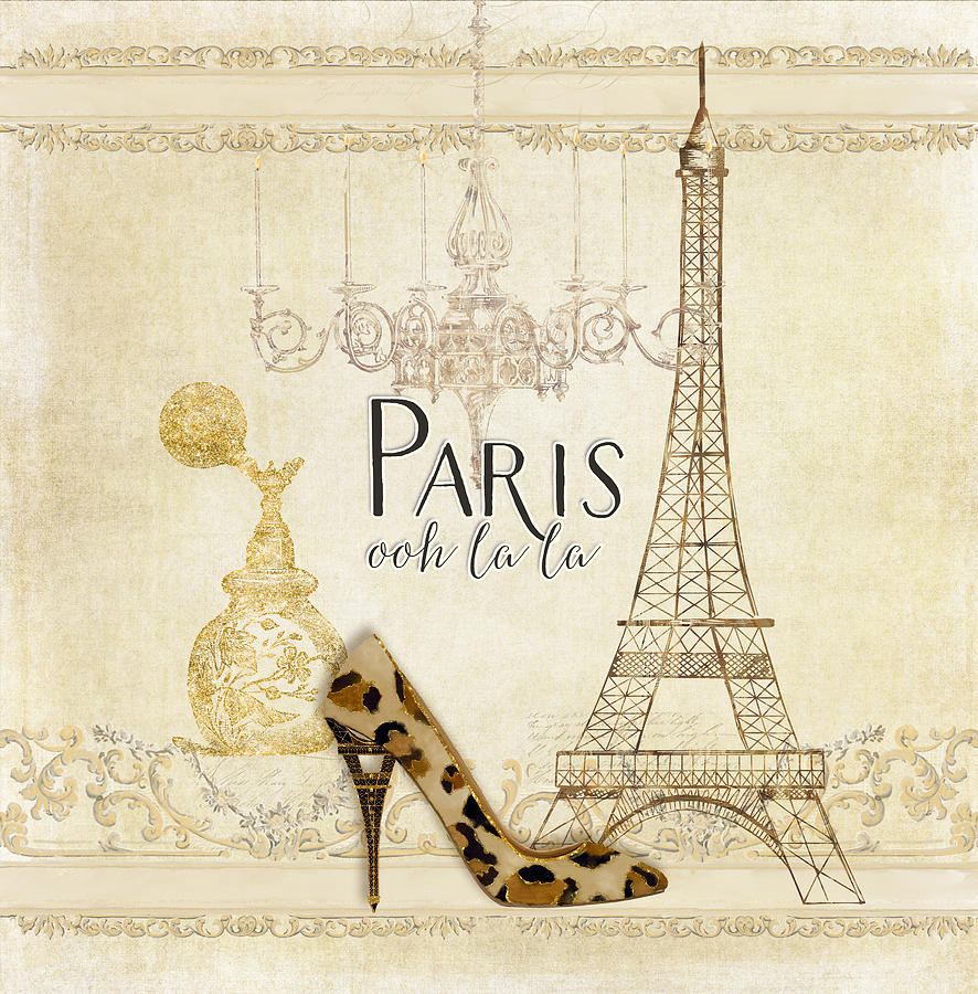 Paris Ooh La La Fashion Eiffel Tower Chandelier Perfume