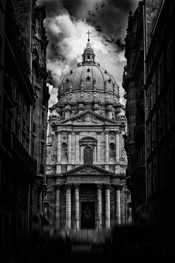 Bw Photograph - Paris Or Roma ? by Klefer