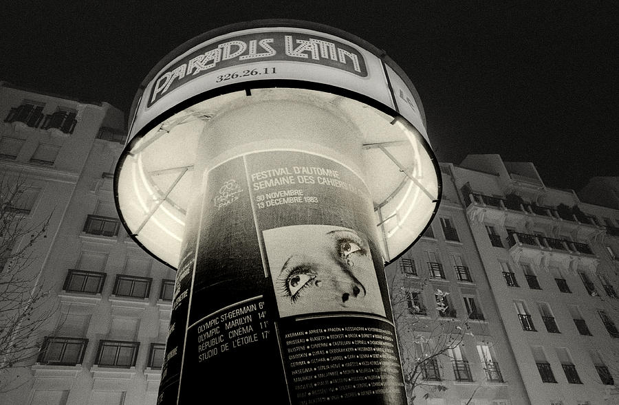 Black And White Photograph - Paris paradise for Man Ray by Philippe Taka