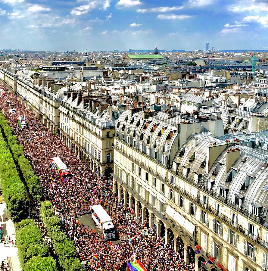 Paris Pride March 2018 by Charles Kraus