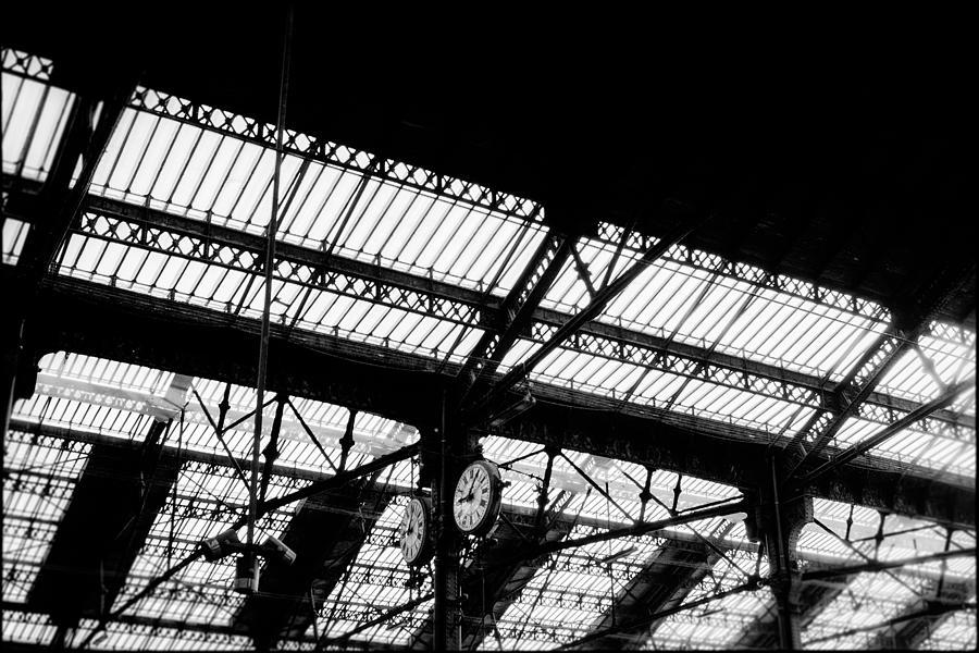 Paris Railway Station Photograph