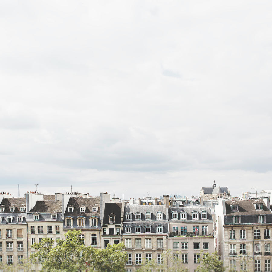 Paris rooftop square photo by Ivy Ho