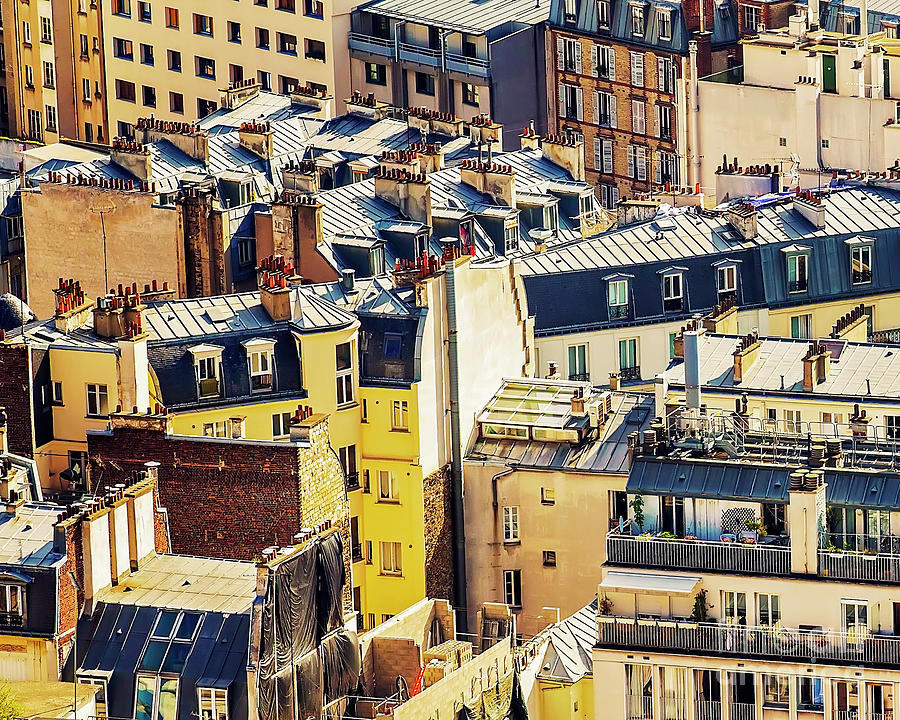 Paris Rooftops Photograph