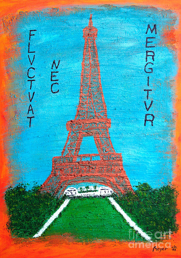 Paris Painting - Paris by Sascha Meyer