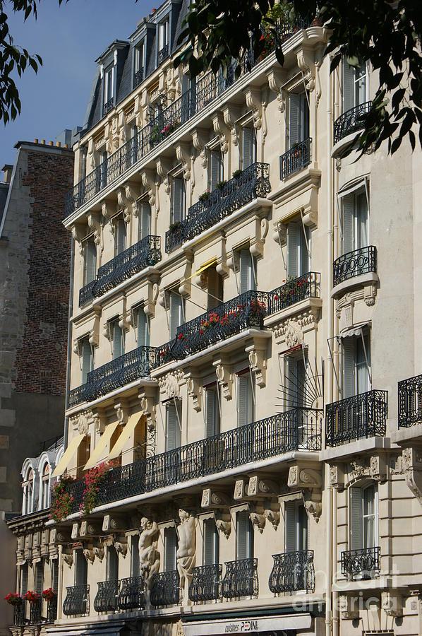 Paris Street Scene Photograph by Christine Jepsen