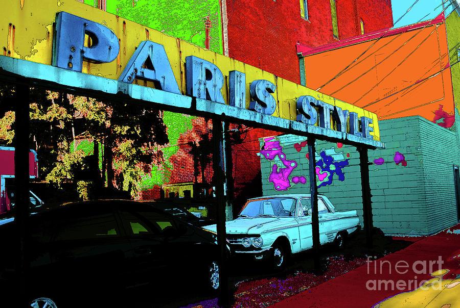 Paris Photograph - Paris Style by Jost Houk