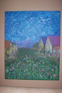 Paris Valley Painting by Jennifer Watier