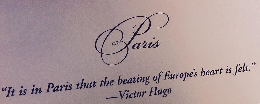Paris Victor Hugo Photograph