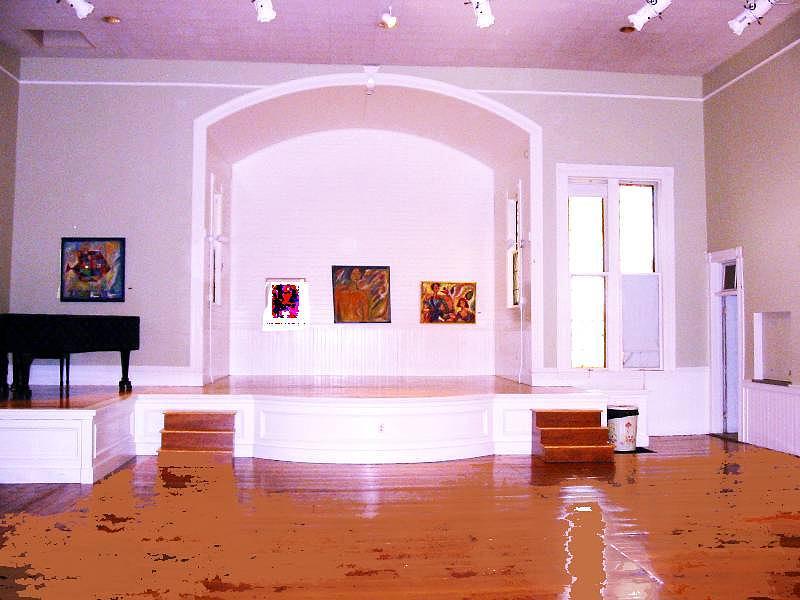 Parish Center Of Art Painting by Noredin Morgan