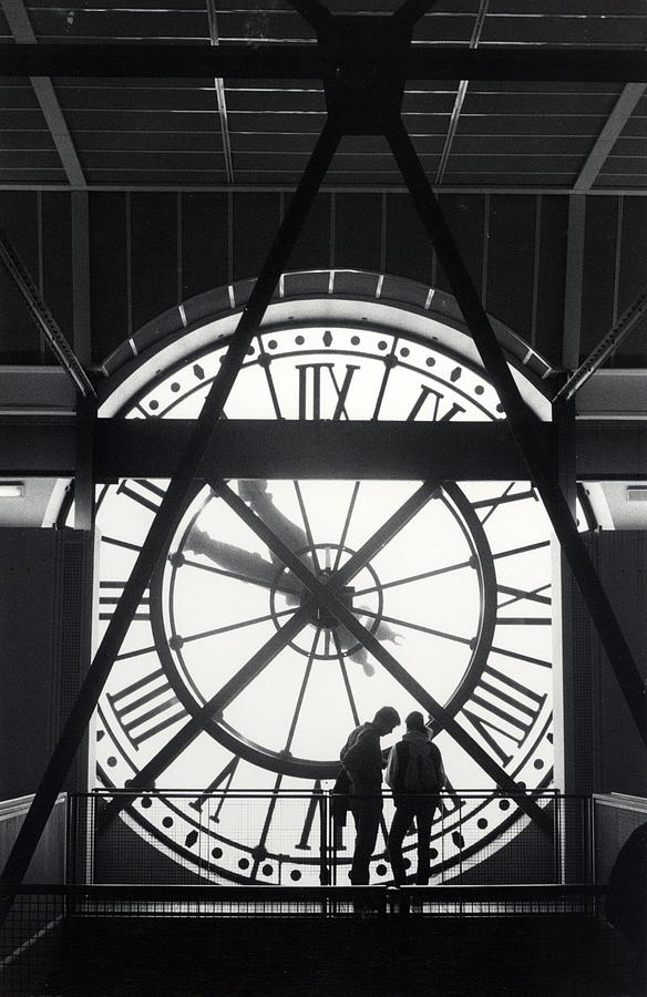 Paris Photograph - Parisian Clock by Andrea Simon