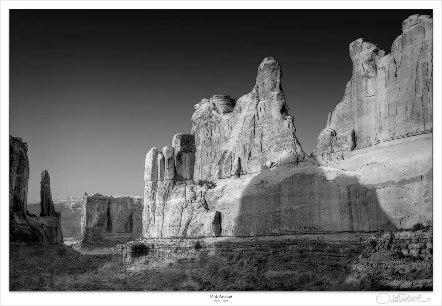 Utah Photograph - Park Avenue Utah by Lar Matre