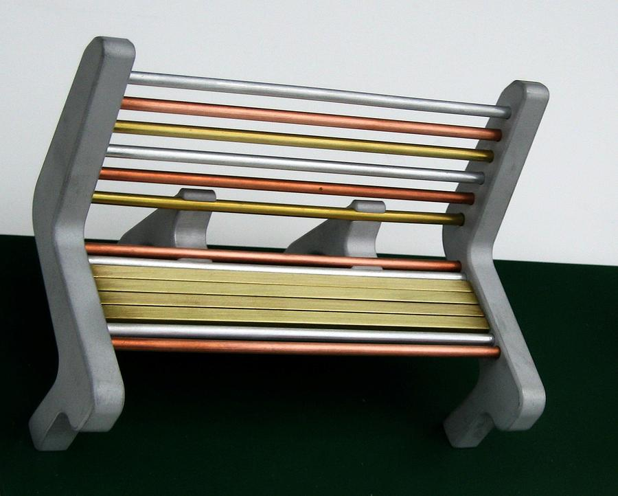 Bench Sculpture - Park Bench Design by Tony Murray