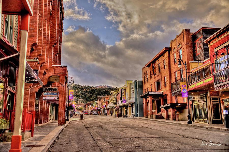 Park City Main Street Photograph