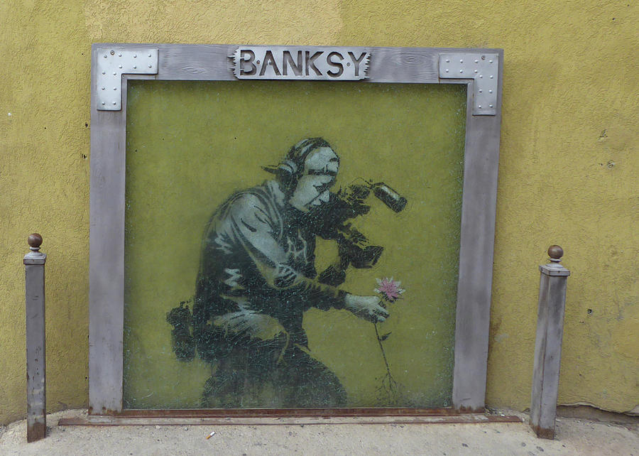 Park City Utah Banksy Art 2 Photograph By Ely Arsha