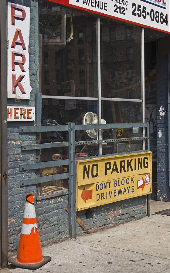 New York Photograph - Park Here by Art Ferrier