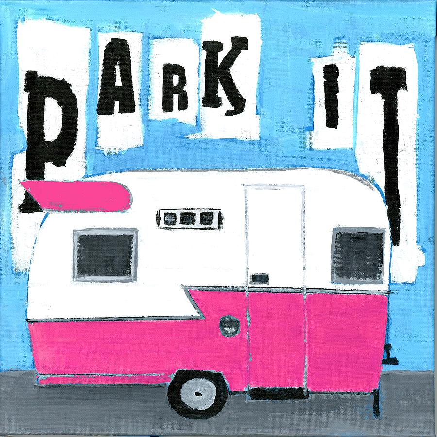 PARK IT- PINK by Debbie Brown