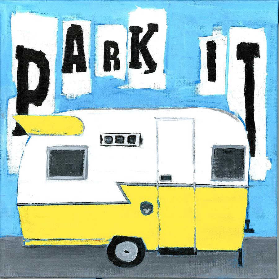PARK IT-YELLOW by Debbie Brown