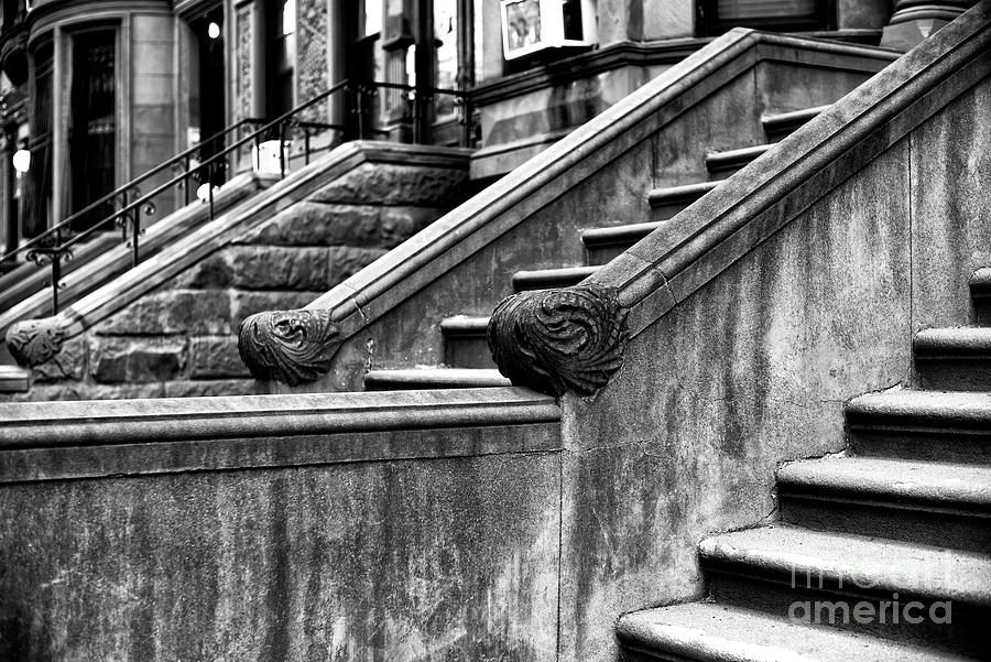 Stairs Photograph - Park Slope Stairs by John Rizzuto